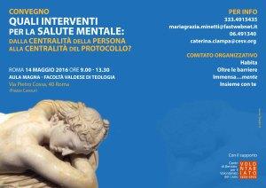 Brochure A4 - Convegno Salute Mentale